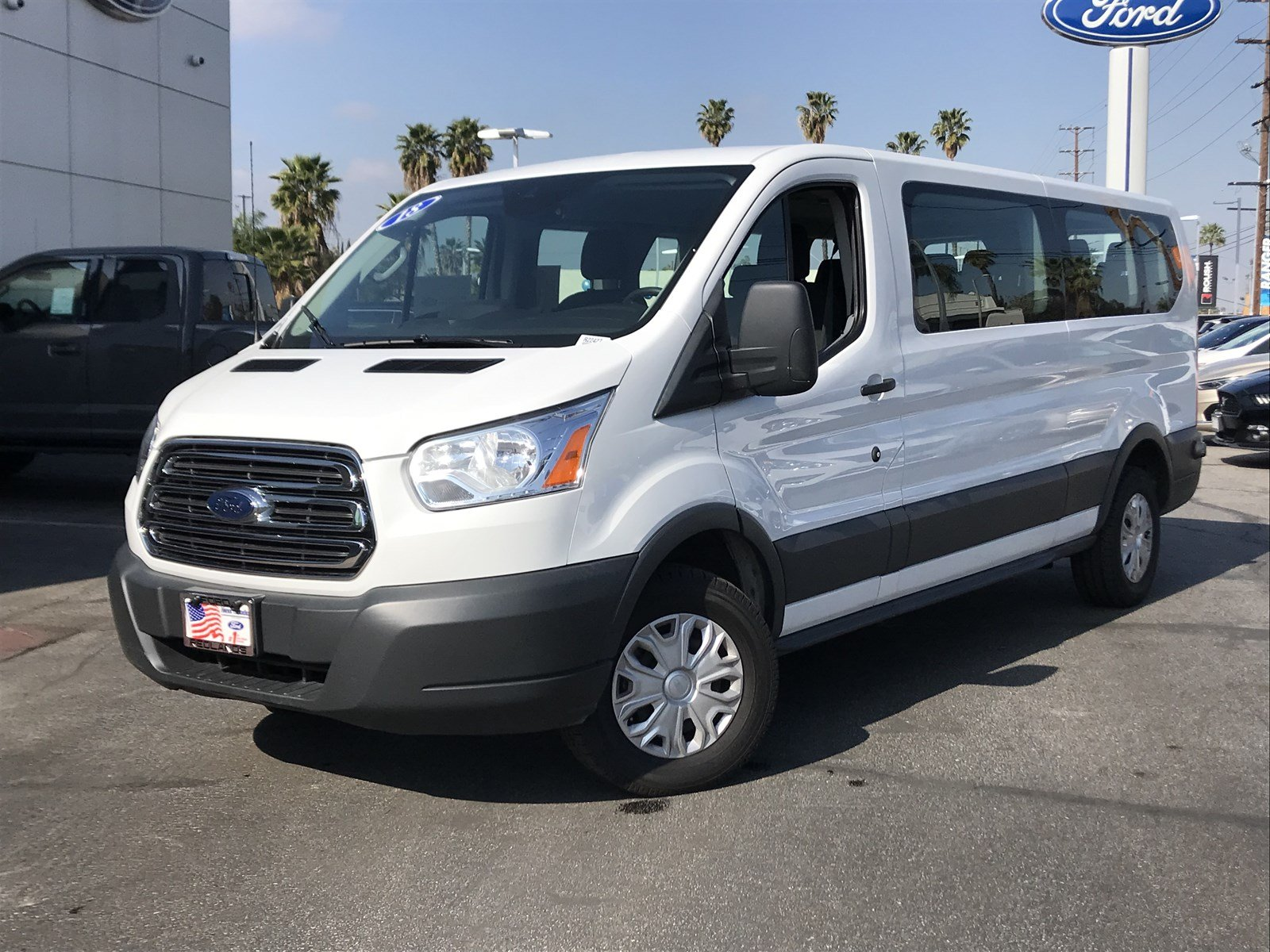 Certified Pre-Owned 2018 Ford Transit Passenger Wagon XLT