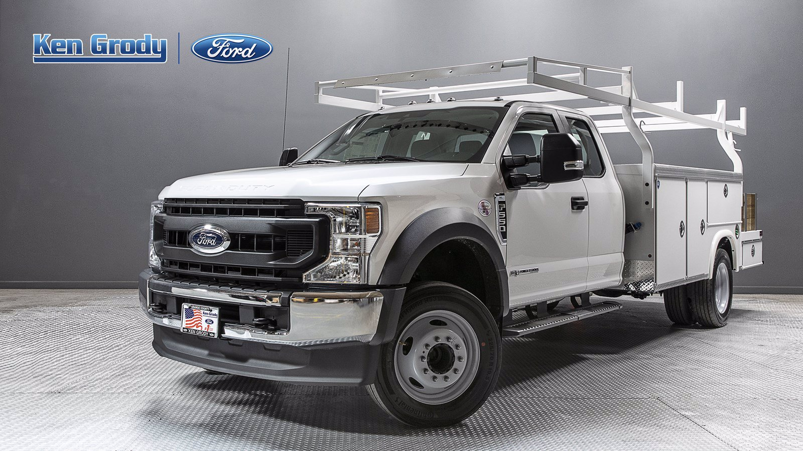 New 2020 Ford Super Duty F-550 DRW XL With 12 Combo