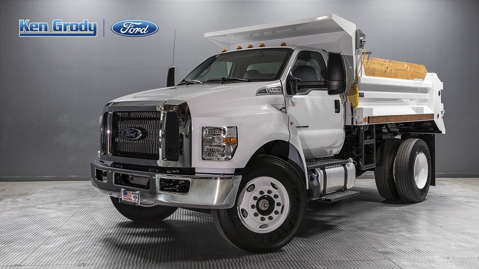 New 2021 Ford F650 HGT With 10' 5/7 Dump