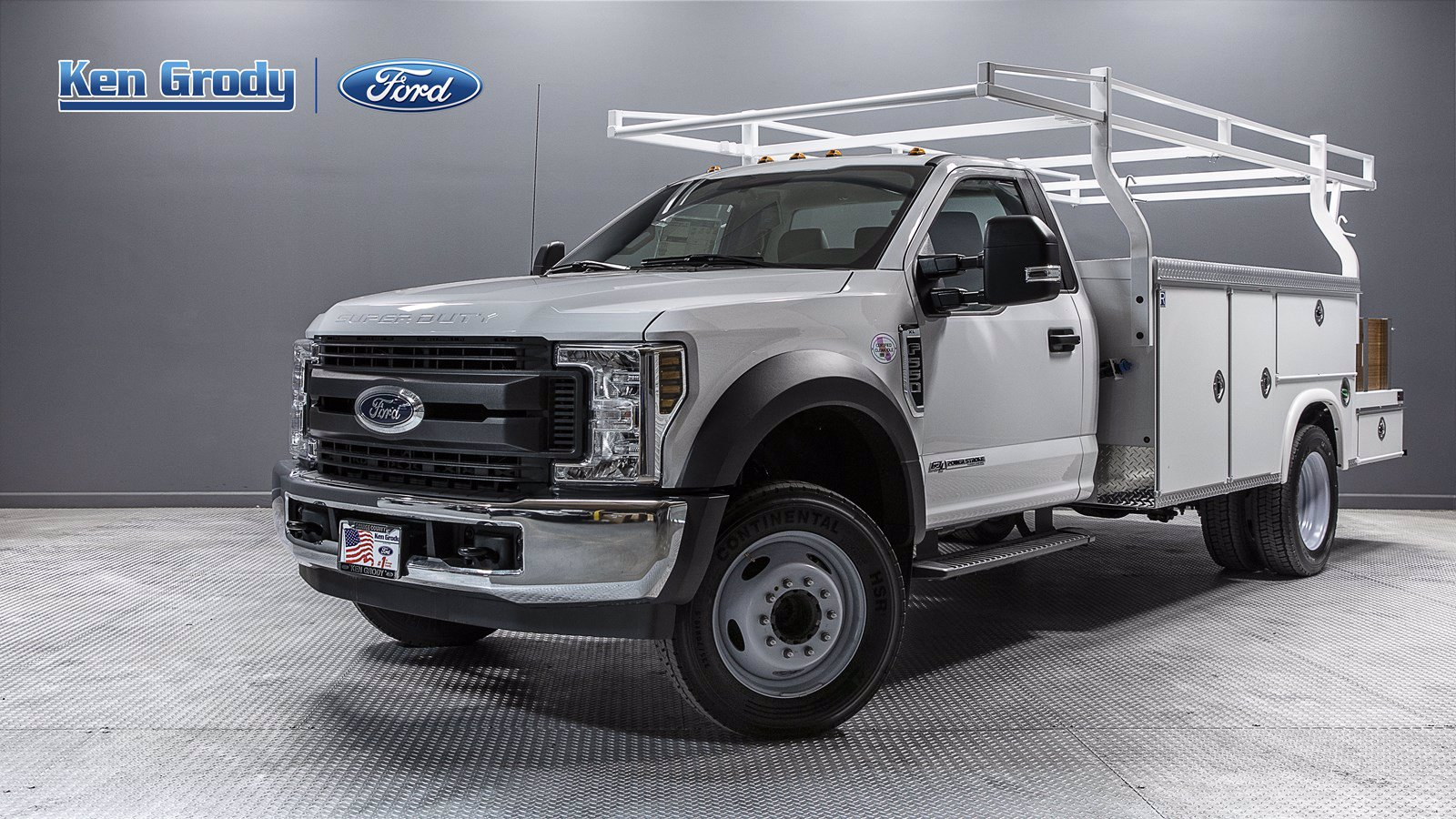 New 2019 Ford Super Duty F-550 DRW XL With 12 Combo